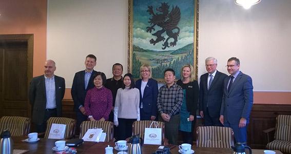 Wejherowskie starostwo odwiedziła chińska delegacja.